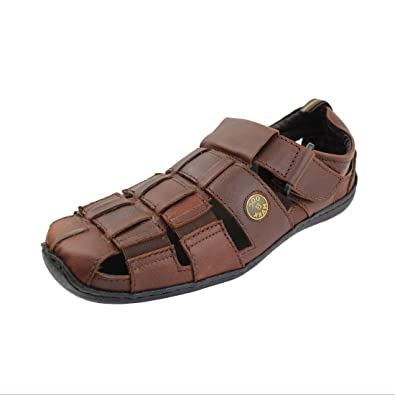 Doc mark 1056 men brown sandal buy online at low prices in india dm 1056 10 brn sandal fandeluxe Choice Image
