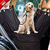#3: Pet Car Seat Cover -Acrabros Dog Car Seat Covers ,Dog Car Hammock and Bench Convertible, Waterproof Washable Dog Car Seat Cover, Non-Slip For Cars, Trucks And SUVs