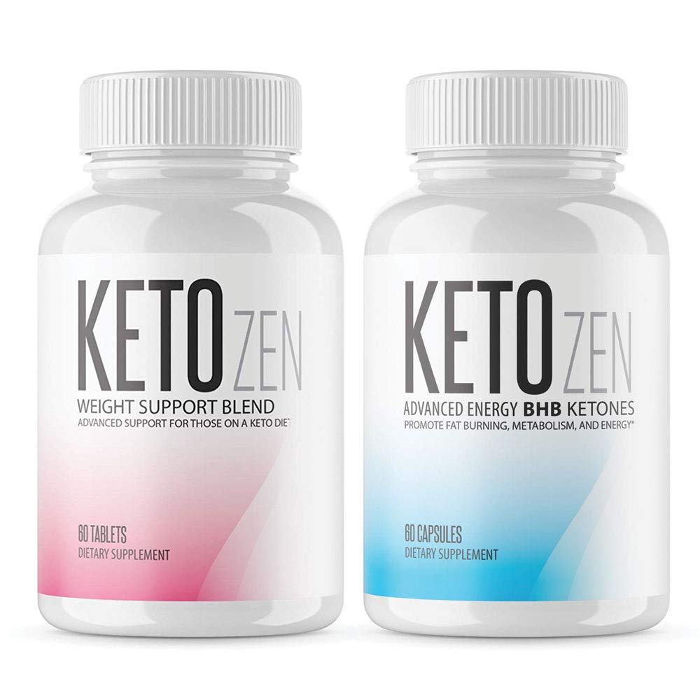 Keto Zen Combo - BHB Ketones and Fruit Ketone Brand Combo - Made in The USA by keto-zen (Image #1)