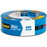 "3M ScotchBlue 2090 Safe-Release Painters Tape, 60 yds Length x 1-1/2"" Width, Blue"