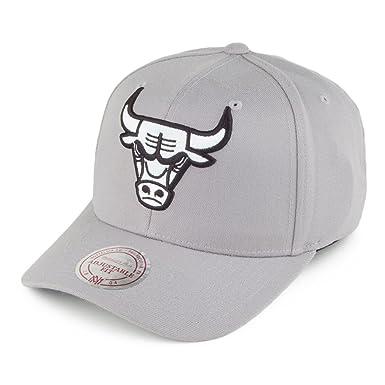 Gorra de béisbol Flexfit 110 Chicago Bulls de Mitchell & Ness ...