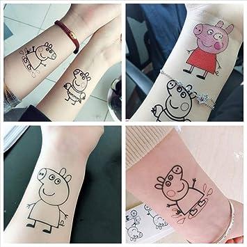 Amazoncom Kekemm Temporary Tattoos Pig Tattoo Stickers