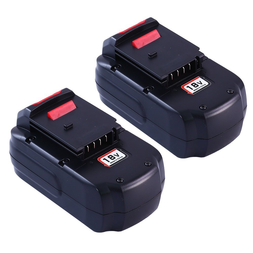 Boetpcr 3.0Ah NI-MH Replacement for Porter Cable 18V Battery PC18B PCC489N PCMVC PCXMVC Pack of 2 by Boetpcr