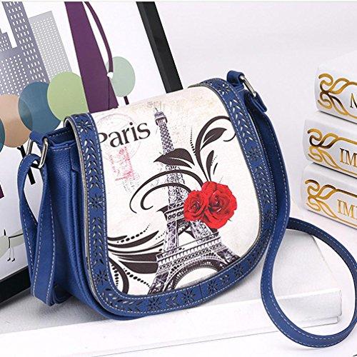 Blue Cheap Colors TOPUNDER body Bags Handbag Girl by for ZB Women Cross Shoulder Small Bag w0cx6C8