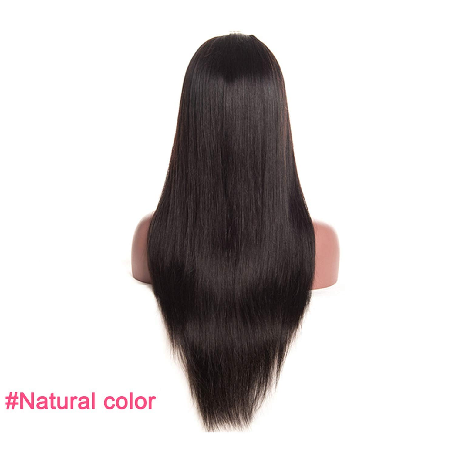 Light Brown Malaysian Straight Wig Lace Front Human Hair Wigs With Baby Hair Lace Front Wig Remy Hair #4 Pre Plucked Hairline,Natural Color,22inches,150%