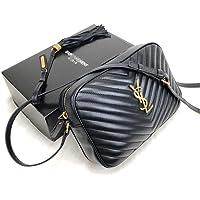 Exclusive Brand World YSL Style Lou Camera Bag Black