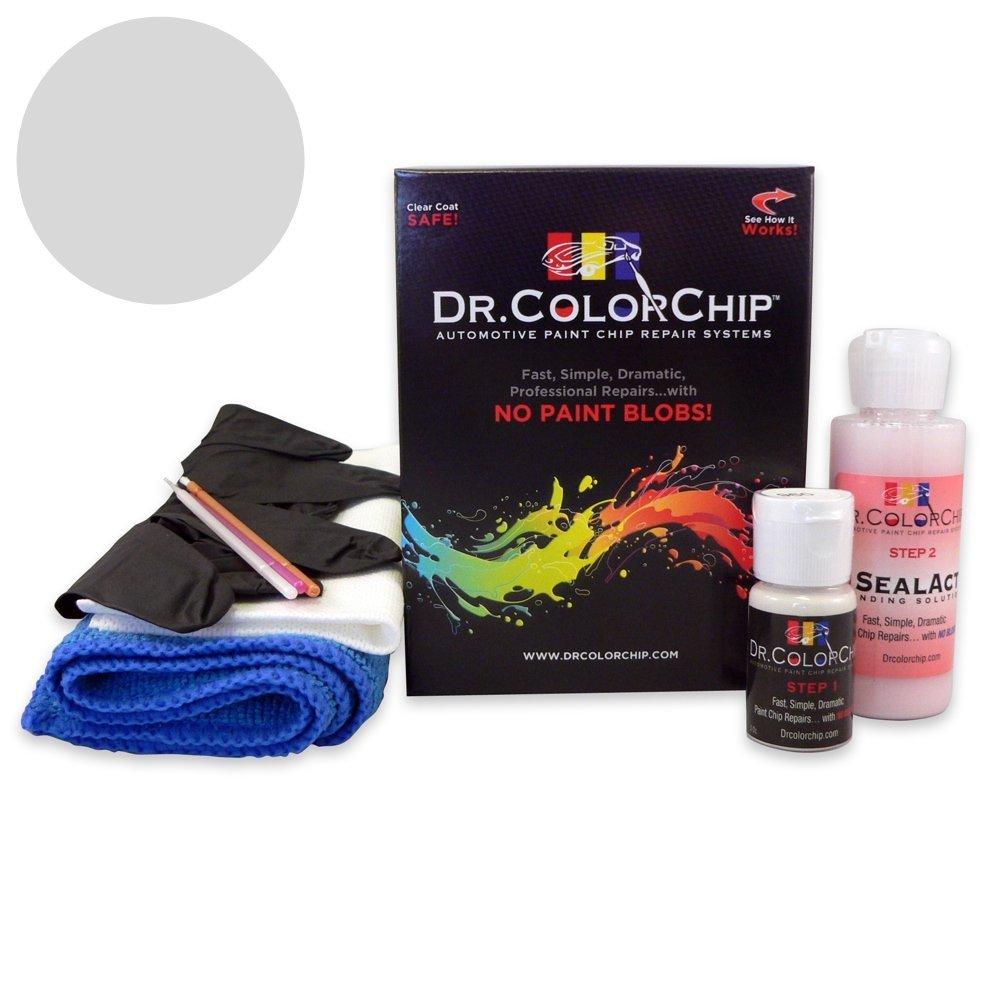 Dr. ColorChip Cadillac SRX Automobile Paint - Switchblade Silver Metallic/Silver Ice Metallic/Radiant Silver 17/WA636R/GAN - Standard Kit