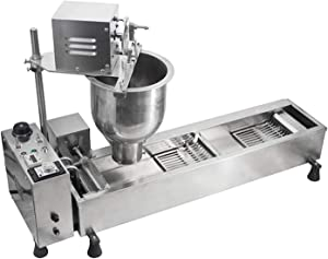 SHIYANLI Commercial Heavy Duty Stainless Steel Electric Automatic Mini Doughnut Donut Machine Maker Fryer Donut Making Machine 110v 220v,110V