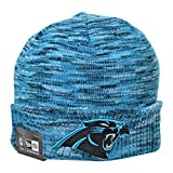 New Era Carolina Panthers NFL Men's Winter Knit Beanie Blue/Black/White 80386398