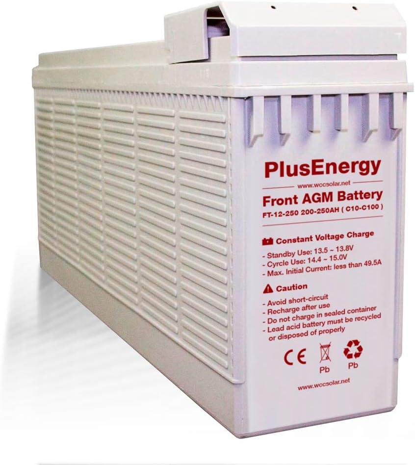 Bateria solar AGM 12V 250Ah