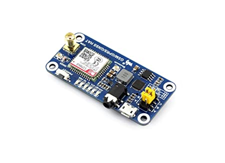 Raspberry Pi GSM/GPRS/GNSS Bluetooth HAT Expansion Board GPS