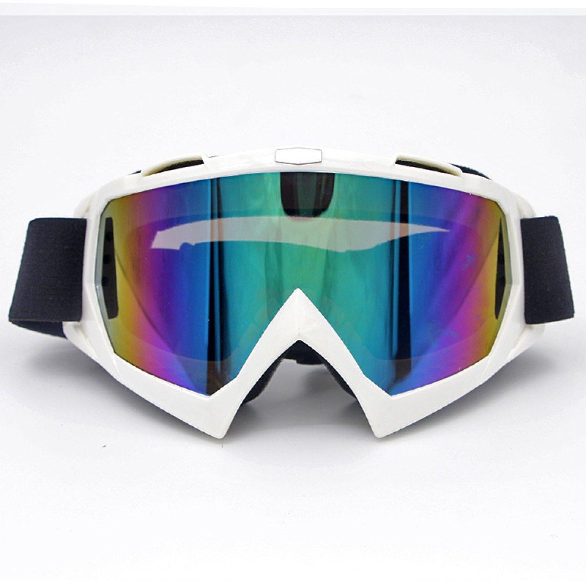 Moto Bicchieri Cross Country Occhiali Specchio Da Sci Occhiali Da Vista Equitazione Occhiali Da Alpinismo,D-OneSize
