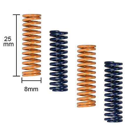 Shi-y-m-3d, 10 Piezas Piezas de Impresora 3D Resorte for Cama ...