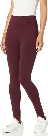 Lark & Ro Women's Ponte Stirrup Legging