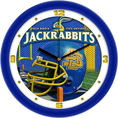 SunTime NCAA South Dakota State Jackrabbits Helmet Wall Clock
