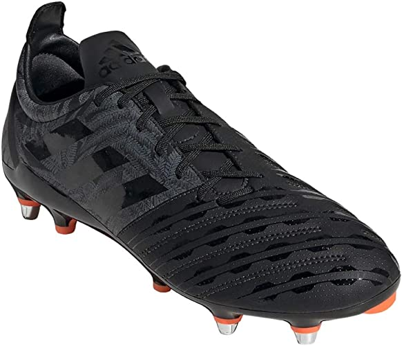 adidas Mens Malice Soft Ground Rugby Boots Lace Up Lightweight