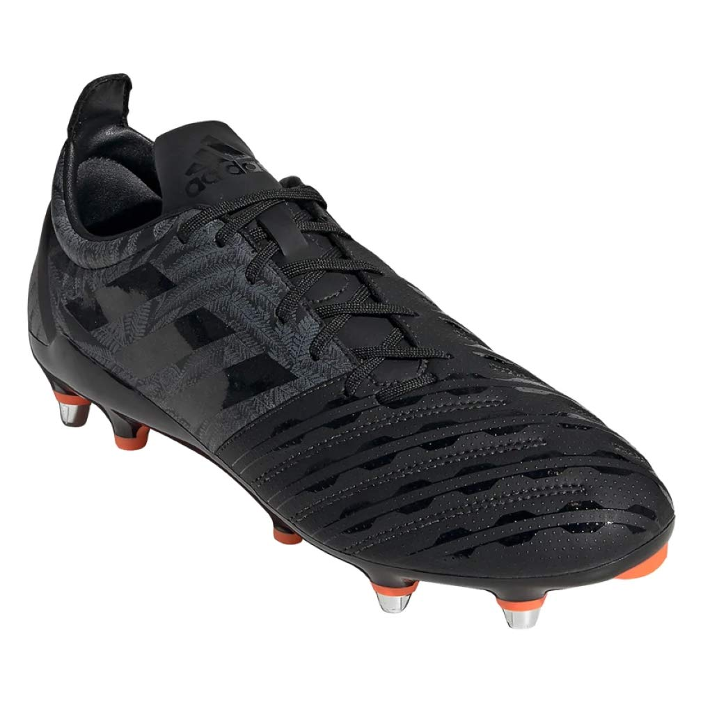 adidas Malice SG Rugby Boots - All Blacks (12) by adidas