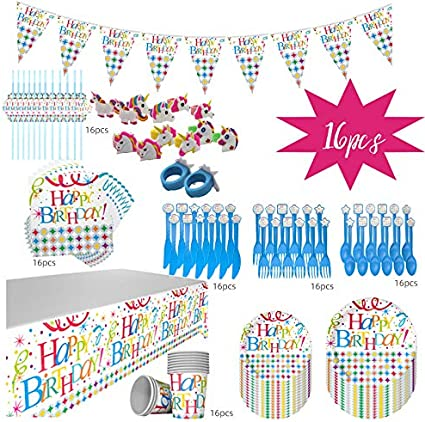 1st BIRTHDAY NAUTICAL SMALL NAPKINS 16 ~ First Party Supplies Serviettes Blue
