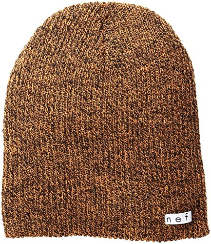 Neff Daily orange Naranja Orange naranja Única Talla Unisex Beanie Gorros Heather black Adulto Black Hfx4rHd