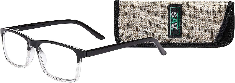 Premium Quality AR Coated Lenses by SAV Eyewear Full Frame Optitek Readers AR7265