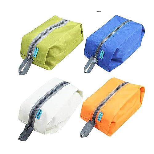 73ae12950 Conjunto de 2 Bolsas Protector calzado resistente al agua u Organizador del  recorrido del bolso. Ideal para viajes. Colores al azar.: Amazon.es: Zapatos  y ...