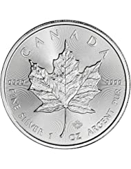2018 CA Canada Silver Maple Leaf (1 oz) $5 Brilliant Uncirculated Royal Canadian Mint