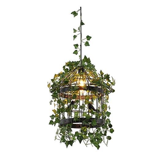 Rústica Estilo Lámparas de araña Creativo flor Lámpara Colgante ...