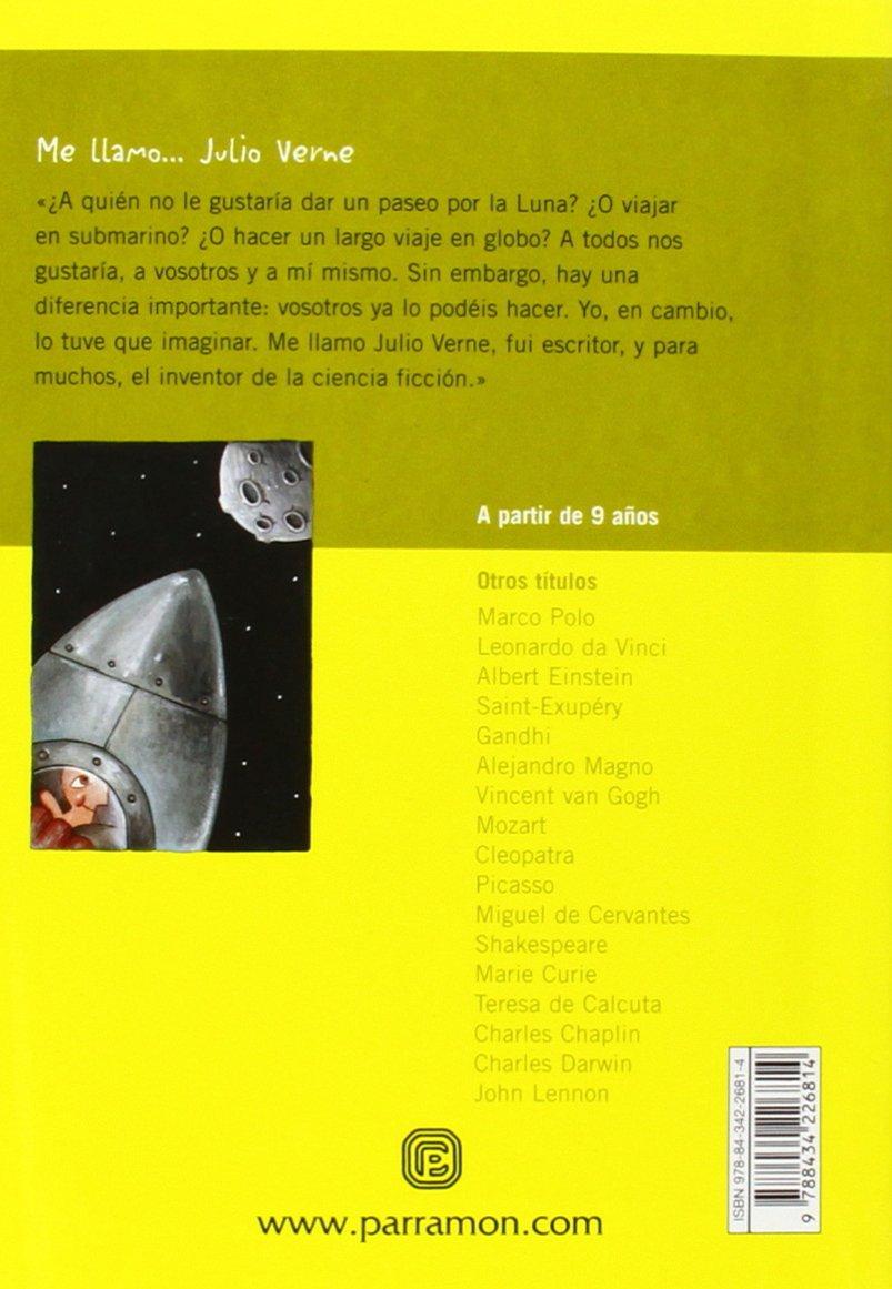 ME LLAMO JULIO VERNE: Amazon.es: Escandell, Víctor (ALEHOP), Cabré ...