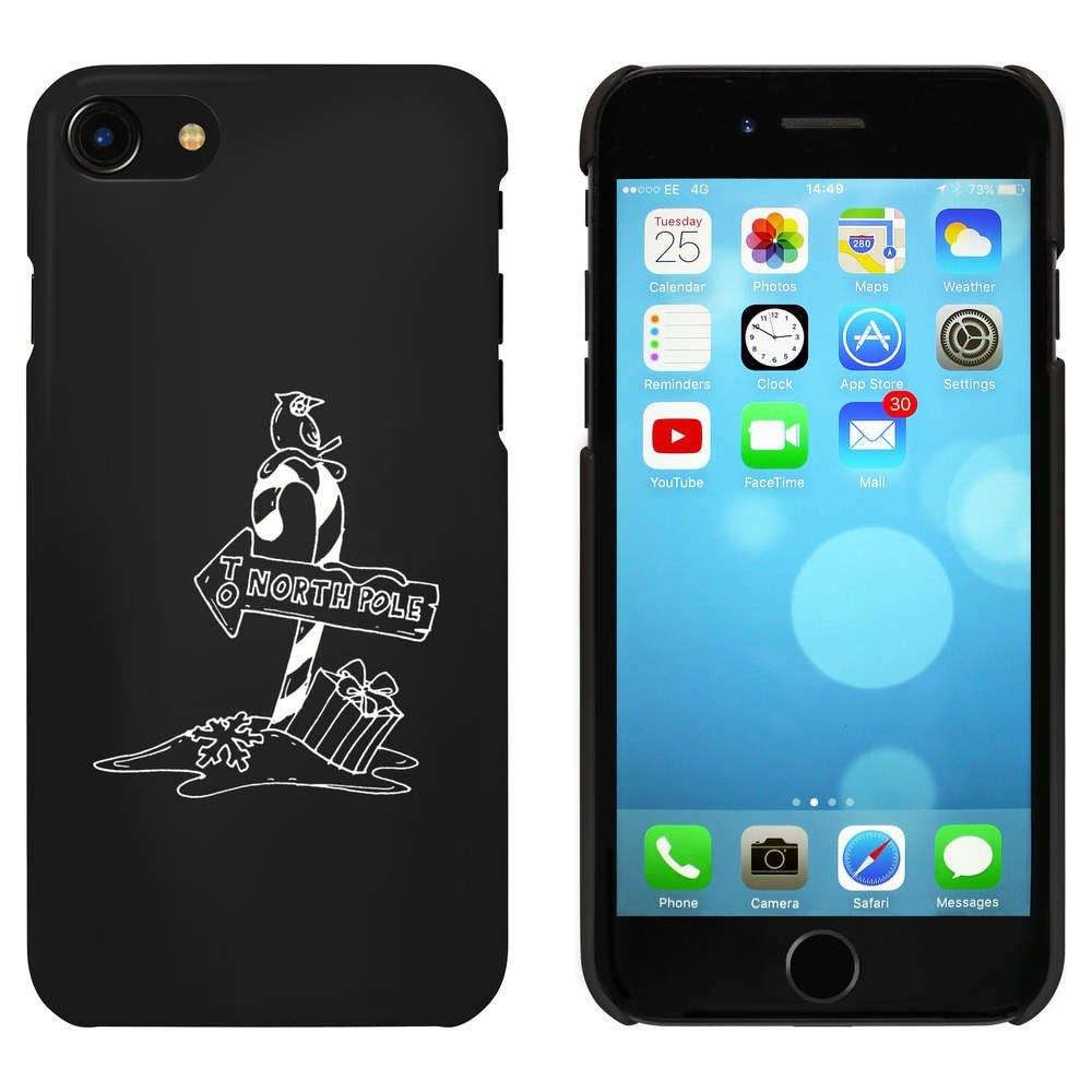 Azeeda Negro Signo del Polo Norte Funda para iPhone 7 ...