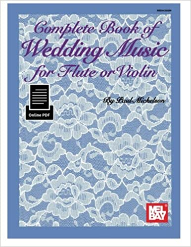 Amazon com: Complete Book of Wedding Music for Flute or Violin