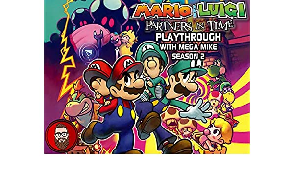 Watch Mario Luigi Partners In Time Playthrough With Mega