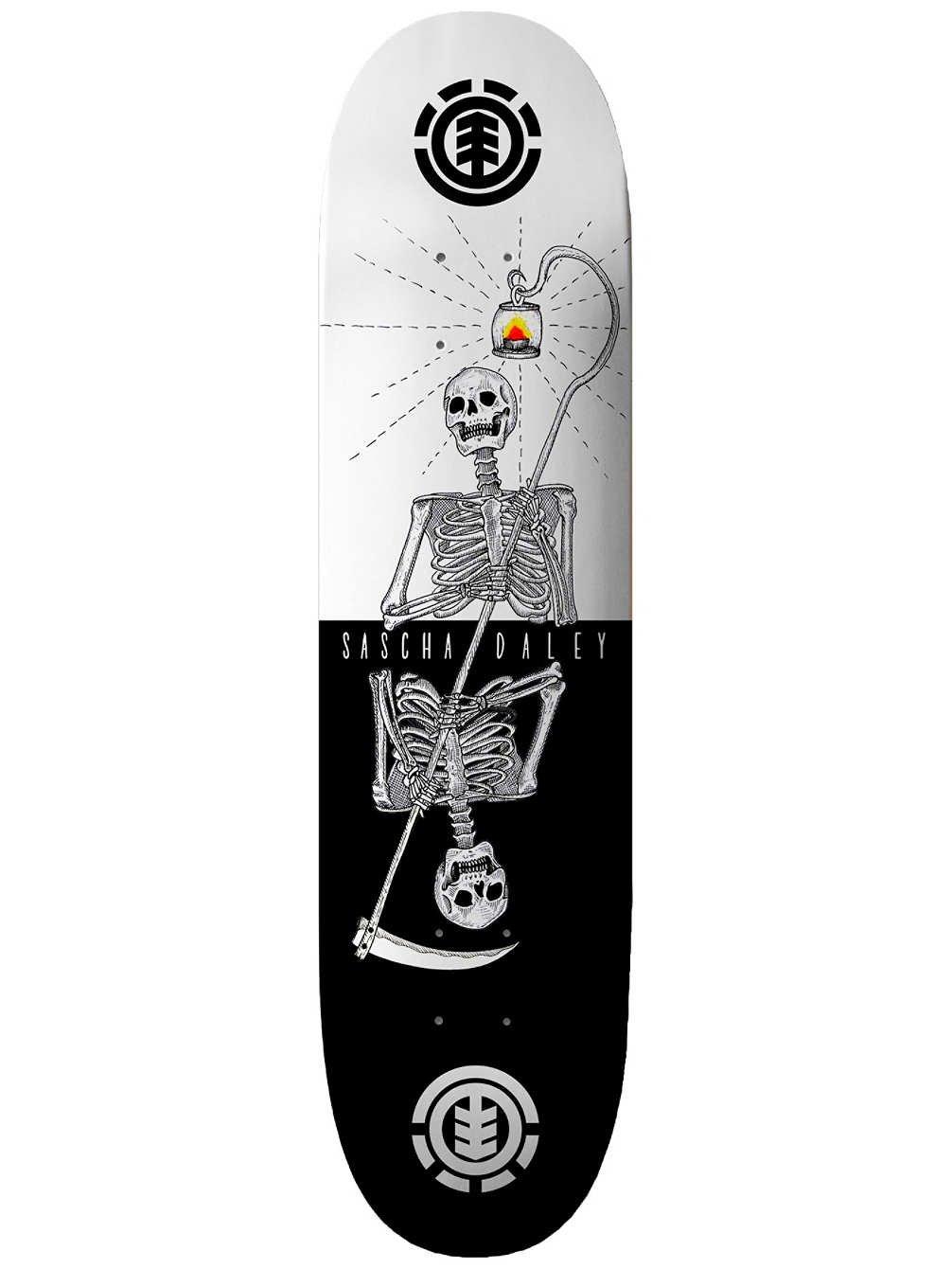 Element Skateboard Deck Reaper Reaper Reaper Sascha - 8.25 inch Bianco-Nero (Default, Bianco) B07FLPLGMG Parent | Garanzia autentica  | attività di esportazione in linea  | Bella apparenza  | Ricca consegna puntuale  | Ad un prezzo inferiore  | Numeroso Nella Vari f202a6