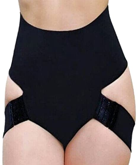 dbd7ae5bc Image Unavailable. Image not available for. Color  FLORATA Fashion Butt  Lift Booster Booty Lifter Panty Tummy Control Body Shaper Enhancer