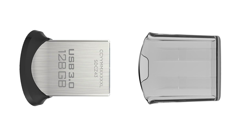 SanDisk Ultra Fit CZ-43 128GB USB 3.0 Flash Drive