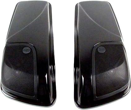 J&M Sbag Lid Kit W/Rokker Xxr 5X7 14-17 Harley HSBL-145X7-XXR