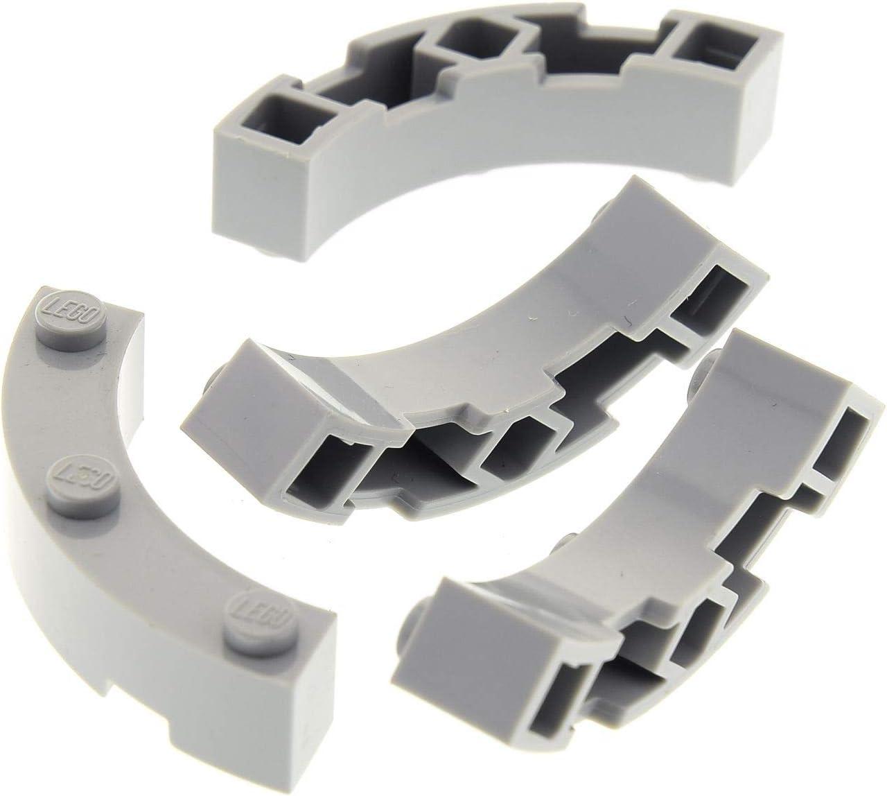 Lego Black Brick Round 4X4 10 Pieces NEW