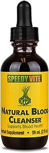 Natural Blood Cleanser Liquid Organic Supplement SpeedyVite® (2 fl oz) Drops