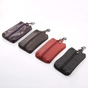 26433644ec11 HsgbvictS Interior Decoration Key Wallet Genuine Leather Key Holder ...