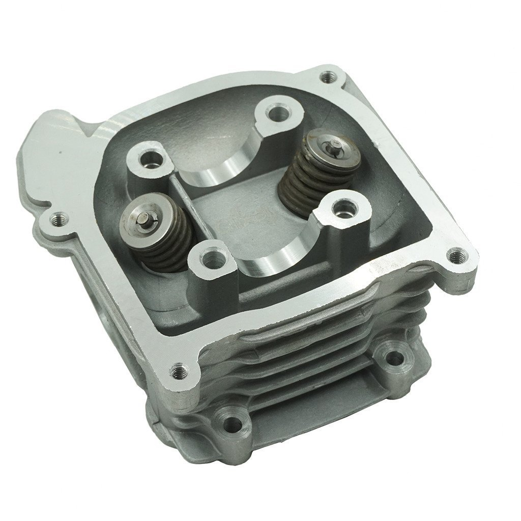 Chanoc GY6 50cc to 80cc Cylinder Head with 64mm Valve for 139QMA 139QMB Chinese ATV Scooter Moped Non EGR Type