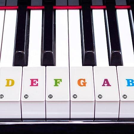 Dilwe Pegatinas para Pianos, Etiquetas Engomadas Dominantes ...