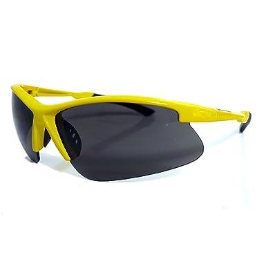 Modische Strike Sportbrille / Sonnenbrille 215 weiß nPEVV