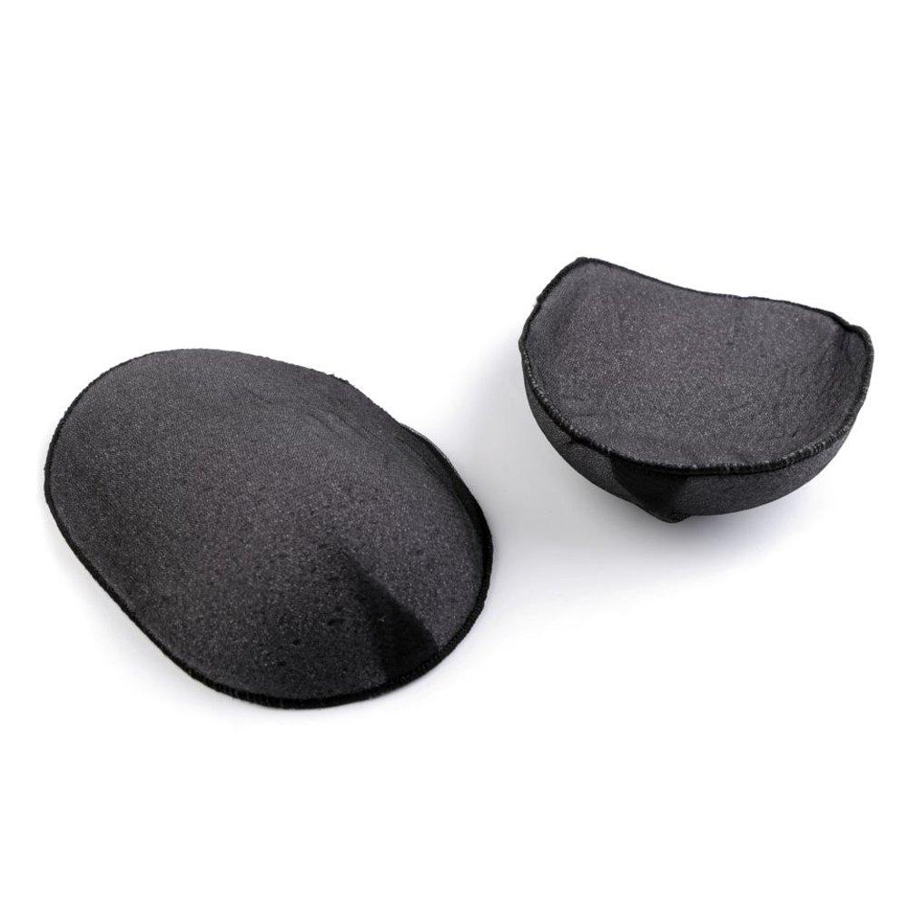 BIG-SAM - Spalline Imbottite per Magliette, Pullover, Giacche ECC. Misura 2, 4 o 10 Pezzi, 16 x 12 x 1,5 cm *