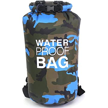 Multi-Function 2L Sports Waterproof Bag Lightweight Outdoors Camping Cycling Fishing Travel Swimming Sack 1PC