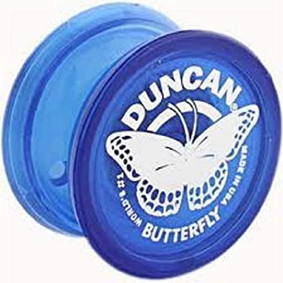 Duncan Butterfly Blue Yo Yo: Toys & Games
