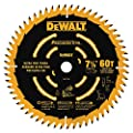 "DEWALT DW7116PT DEWALT DW7116PT 60T Precision Trim Miter Saw Blade, 7-1/4"" by DEWALT"