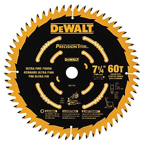DEWALT DW7116PT DEWALT DW7116PT 60T Precision Trim Miter Saw.
