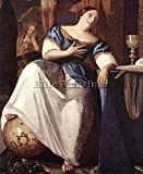 VERMEER ALLEGORY FAITH DETAIL1 ARTIST PAINTING REPRODUCTION HANDMADE OIL CANVAS 48x40inch MUSEUM QUALITY