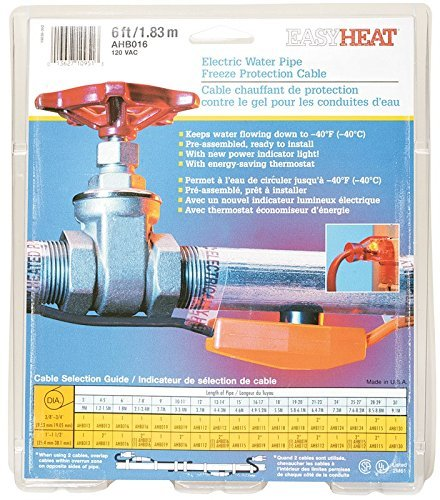 Easy Heat AHB-016 6' Heat Cable by Easy Heat