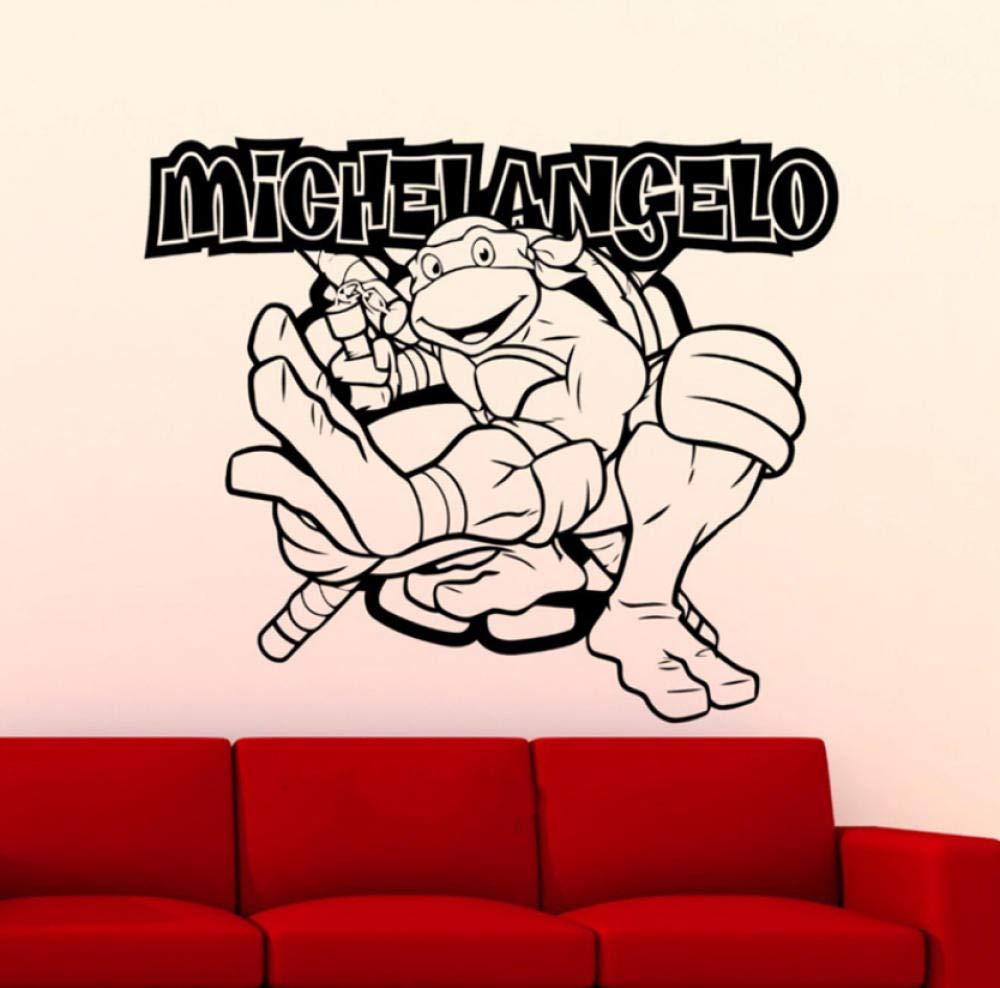 Etiqueta de la pared Etiqueta de la pared Tortugas Mutant ...