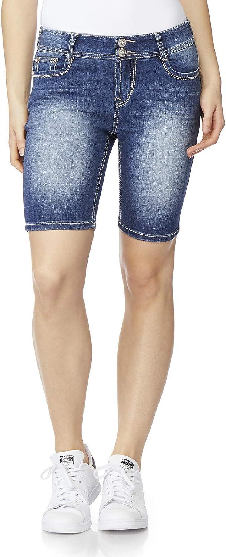 WallFlower Women/'s-Juniors Plus Size Luscious Curvy Midthigh Shorts